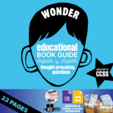 Wonder Book Study Guide - Chapter by Chapter High-Level Qu
