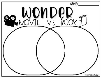 Wonder book vs movie persausive writing bulletin board graphic wonder book vs movie persausive writing bulletin board graphic organizers ccuart Image collections