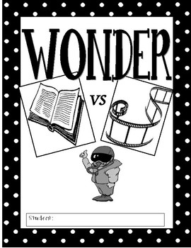 Wonder: Book vs Movie by Jean Martin