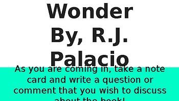 Wonder Bookclub Discussion
