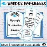 Wonder Bookmarks Precepts