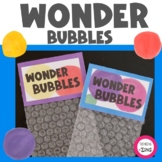 Wonder Bubbles Exploration, Creativity and Curiosity Activity