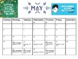 Wonder By R.J. Palacio Pacing Calendar