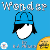 Wonder Novel Study Book Unit Distance Learning