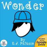 Wonder Novel Study Book Unit Distance Learning