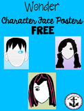 Wonder Character Face Posters