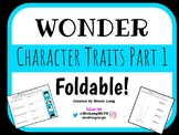 Wonder Character Traits Foldable Version 2!