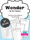 Wonder: Common Core Novel Study