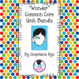 """Wonder"" Common Core Unit Bundle"