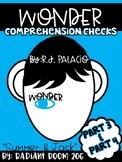 Wonder Comprehension Checks Part 3 &4