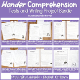 Wonder by R.J. Palacio Comprehension Test BUNDLE