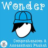 Wonder Comprehension and Assessment Packet Bundle