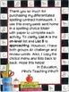 Wonder Differentiated Spelling Menu Units 1-3