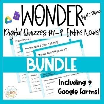 Wonder Digital Quiz BUNDLE