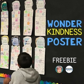 Wonder Freebie: Wonder Kindness Poster