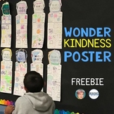 Wonder Freebie | Wonder Kindness Poster | Wold Kindness Da