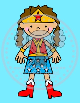 Wonder Girl Custom Image for Nicole