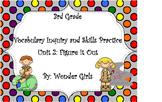 WonderGirls 3rd Grade: Unit 2 Vocabulary Inquiry and Skills Practice