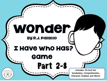 Wonder: I Have... Who Has?  2 Game Sets
