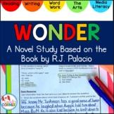 Wonder by RJ Palacio Novel Study