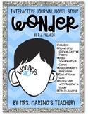 Wonder Interactive Journal Novel Study