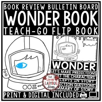 Wonder Novel Study [Wonder by: R.J. Palacio Flip Book]