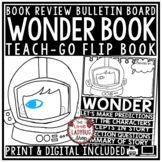 Wonder Novel Study [Flip Book Review Template] Wonder by R