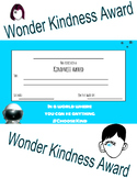 Wonder Kindness Award