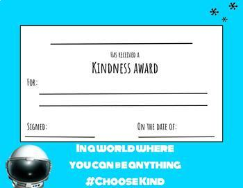 Wonder Kindness Award