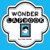 Wonder by R.J. Palacio Lapbook