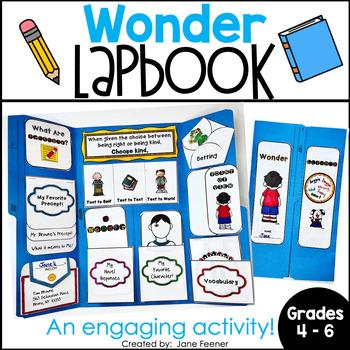 Wonder by R.J. Palacio Lapbook