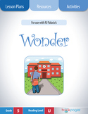 Wonder Lesson Plan  (Book Club Format - Perspective/Point of View) (CCSS)