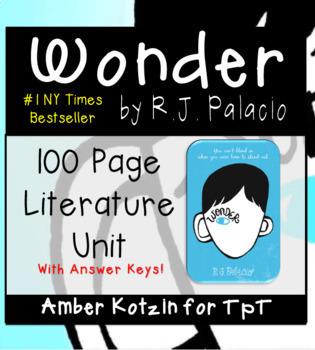 Wonder Literature Guide (Common Core)