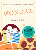 Wonder Movie Guide Packet + Activities + Sub Plan + Best Value