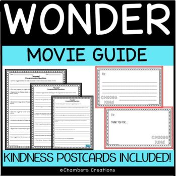 Wonder- Movie Guide Questions