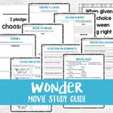 Wonder Movie Study Guide