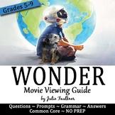 Wonder Movie Viewing Guide, Printable and Digital