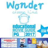 Wonder Movie Guide | Film Questions | Worksheet | (PG - 2017)