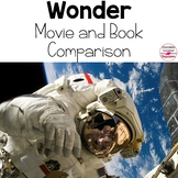 Wonder Movie and Book Comparison Activities for 21 Century