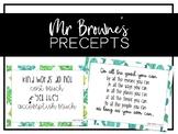 Wonder - Mr Browne's Precepts (Cactus Theme)