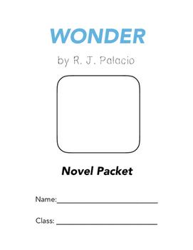 Wonder Novel Packet