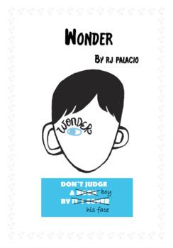 Wonder Novel Response Booklet