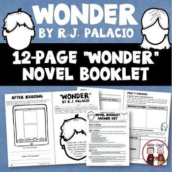 Wonder Novel Study Booklet