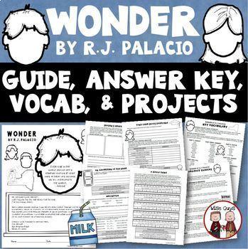 Wonder Novel Study Super Bundle of Activities