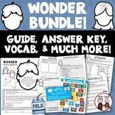 Wonder Novel Study Super Bundle of Activities