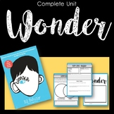 Wonder - Novel Study: Complete Interactive Printable Unit