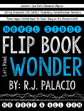 Wonder Novel Study Flip Book
