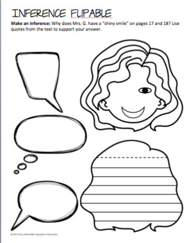 Wonder Novel Study: Lap Book