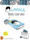 Wonder Novel Study - R.J. Palacio -  BIG KIDS - Interactiv