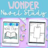 Wonder Novel Study Unit   R.J. Palacio   Digital Version f